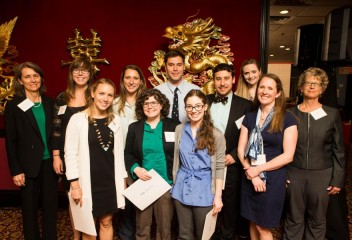 Honos Civicus celebrates and publicly recognizes graduating students who have demonstrated an exceptional commitment to community service and civic engagement during their studies at the Cummings School of Veterinary Medicine.