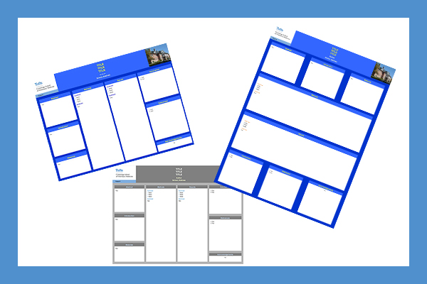 Download poster templates