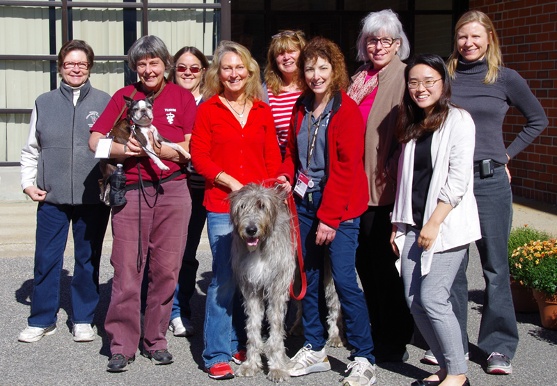 Tufts Paws for People and Pet PartnersÆ launched a weekly lunchtime walk around campus in response to Walk With Meô, a new special initiative in response to the Surgeon Generalís Call to Action about walking for better health. Did you also know that people who walk with an animal are more likely to meet physical activity recommendations? Walk With Me is a program with registered therapy animals leading walks to get everyone up and moving. Learn more about this initiative! http://bit.ly/2yCYm00
